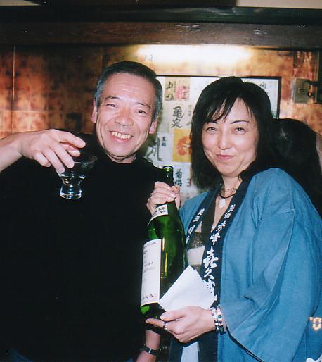 漫画家高瀬斉さんの、日本酒教室
