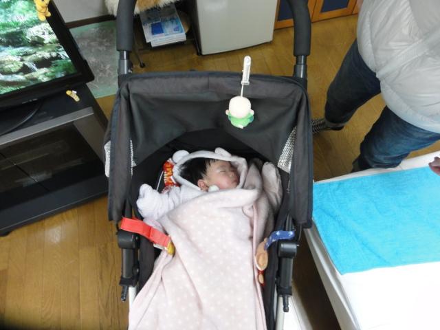 出産の手伝いの疲れも解消