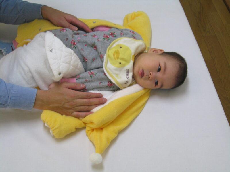 臨月からの腰痛、骨盤矯正で産後も赤ちゃん連れです。