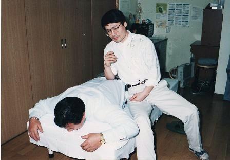 藤波辰爾さん腰治療